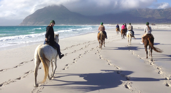 Horse Riding Noordhoek Beach
