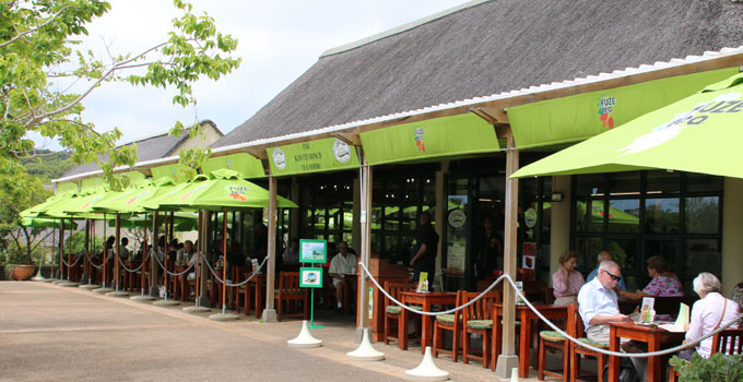 The Tea Room at Kirstenbosch Gardens